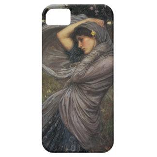 Boreas - John William Waterhouse iPhone 5 Fundas