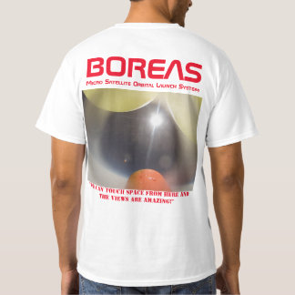 BOREAS: Micro satellite launch system T-Shirt