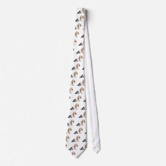 Bored Basset Hound Tie