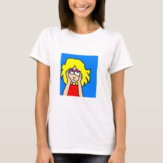 Bored Blonde T-Shirt