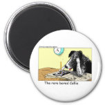 Bored Border Collie Funny Gifts Tees Collectibles Fridge Magnet