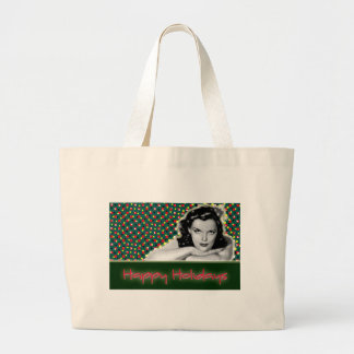 Bored Brunette - Happy Holidays Tote Bags