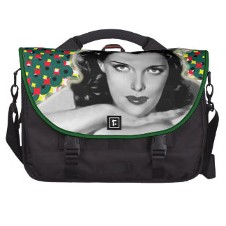 Bored Brunette - Happy Holidays Bags For Laptop
