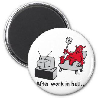 Bored Devil Magnet