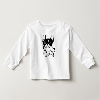 Bored Frenchie Toddler T-shirt