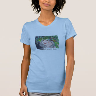 Bored Ladies (Fitted) Twofer Sheer T-Shirt