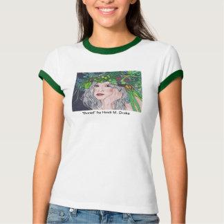 Bored Ladie's Ringer T-Shirt