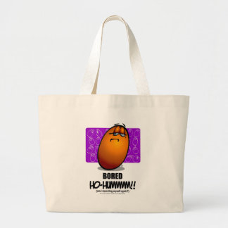BORED - Orange Canvas Bag