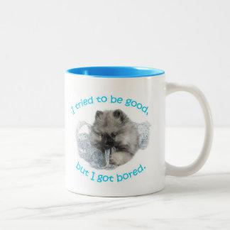 Bored Puppy Mug