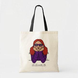 Bored, shopping bag