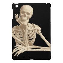 Bored Skeleton iPad Mini Cover