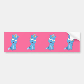 Bored Unicorn - Magical Creature Bumper Sticker