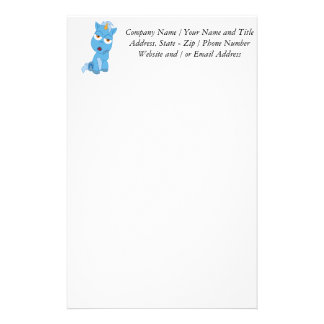 Bored Unicorn - Magical Creature Stationery