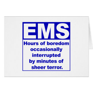 Boredom/Terror Greeting Cards
