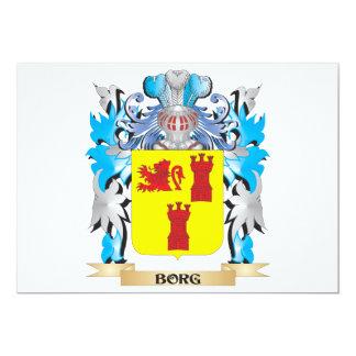 Borg Coat of Arms Personalized Invitation