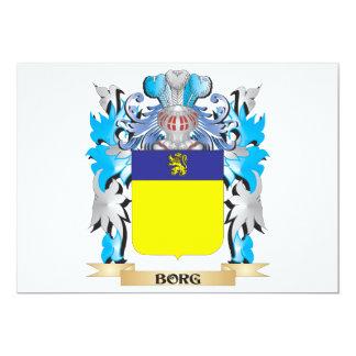 Borg Coat of Arms Invite