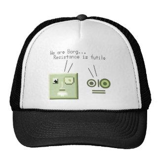 Borg pocket trucker hats