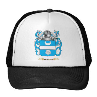 Borges-2 Coat of Arms (Family Crest) Mesh Hats
