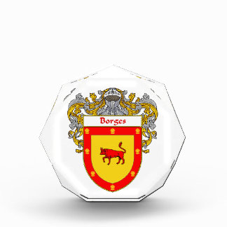 Borges Coat of Arms Family Crest Awards