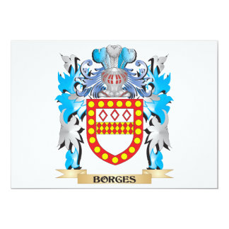 Borges Coat of Arms Personalized Announcements