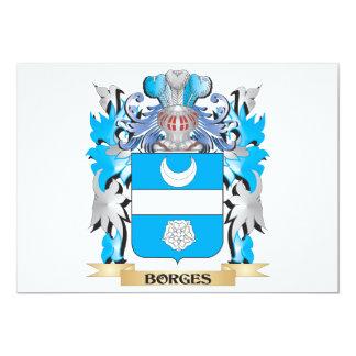 Borges Coat of Arms Custom Invite
