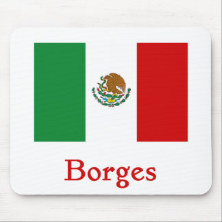 Borges Mexican Flag Mouse Pad