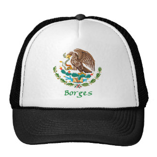 Borges Mexican National Seal Mesh Hat