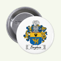 Borghese Family Crest Button