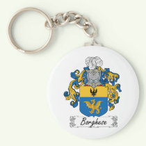 Borghese Family Crest Keychain