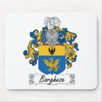 Borghese Family Crest Mousepad
