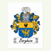 Borghese Family Crest Postcard