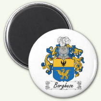Borghese Family Crest Magnet