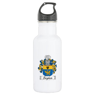 Borghese Family Crest Water Bottle