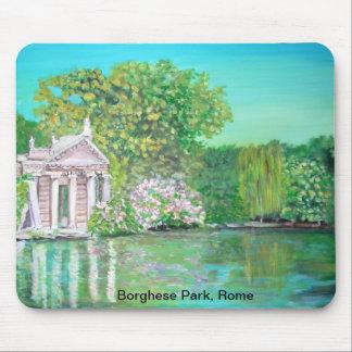 Borghese Park, Rome Mousepad