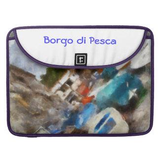 """""""Borgo di Pesca """" Funda Para Macbooks"""