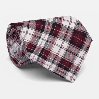 Borgoña y negro corbatas