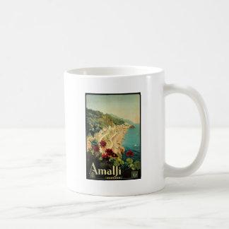 Borgoni Amalfi Campania Italy Classic White Coffee Mug