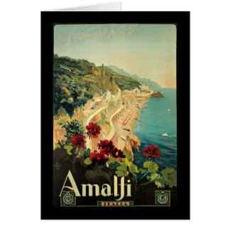 Borgoni Amalfi Campania Italy Greeting Card