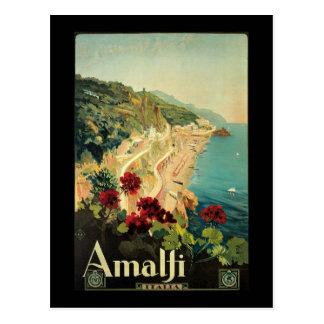 Borgoni Amalfi Campania Italy Postcard