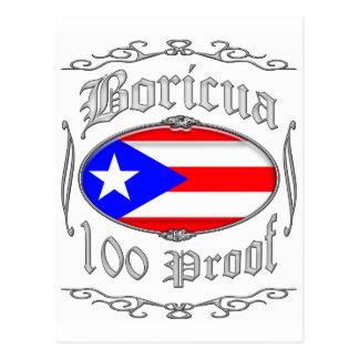 Boricua 100 Proof2 Post Cards