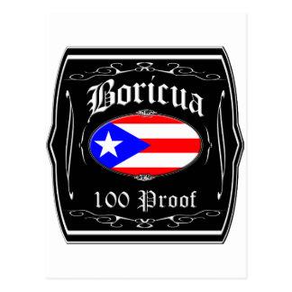 Boricua 100 Proof Postcards