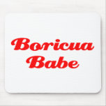Boricua Babe Mouse Pads