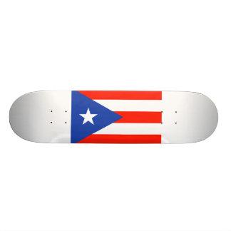 Boricua Bandera Flag of Puerto Rico 4Hector Skateboard Deck