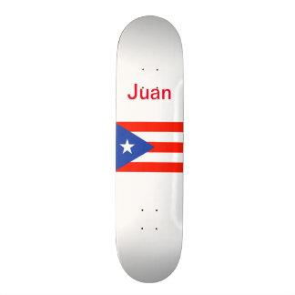 Boricua Bandera Puerto Rican Flag 4Juan Skateboard Deck