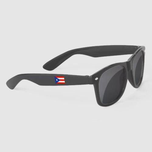 Boricua Banderas Puerto Rican Flags 4Pedro Sunglasses
