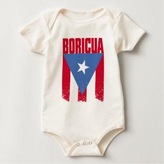 Boricua Flag Baby Bodysuit