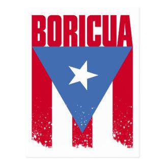 Boricua Flag Post Cards