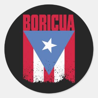 Boricua Flag Stickers