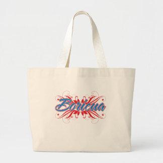 Boricua Floral Jumbo Tote Bag