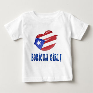 Boricua Girl Baby T-Shirt